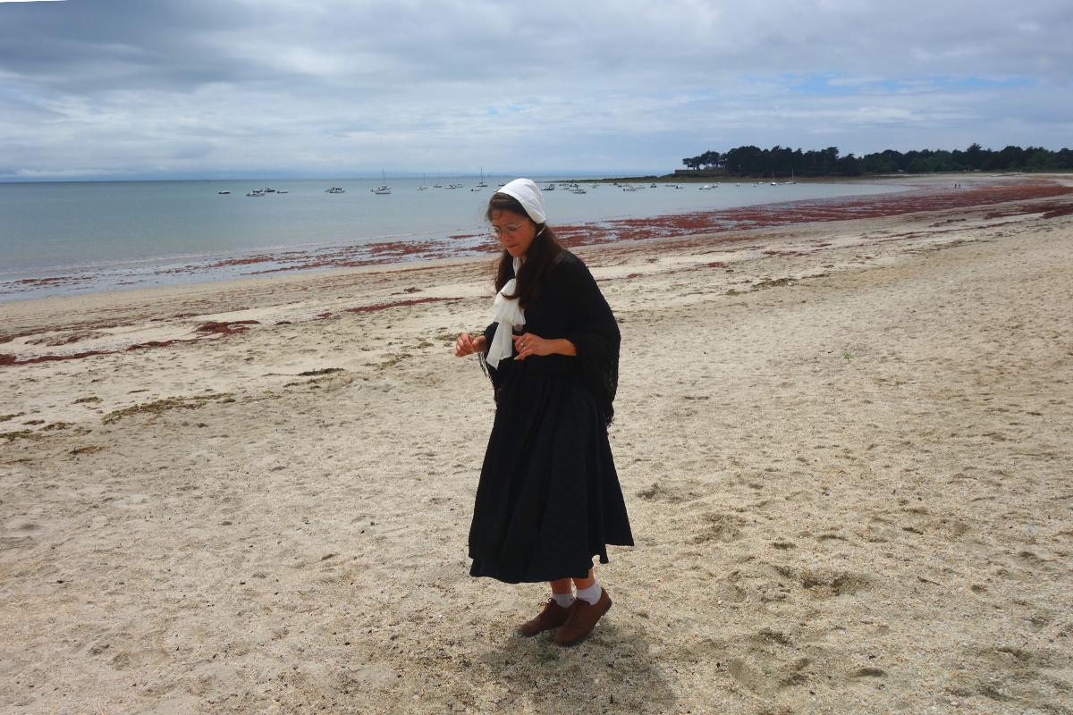 visite insolite traditions à la Belle époque sur la presqu'île de Sarzeau